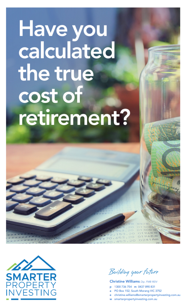 Have you calculated the true cost of retirement?