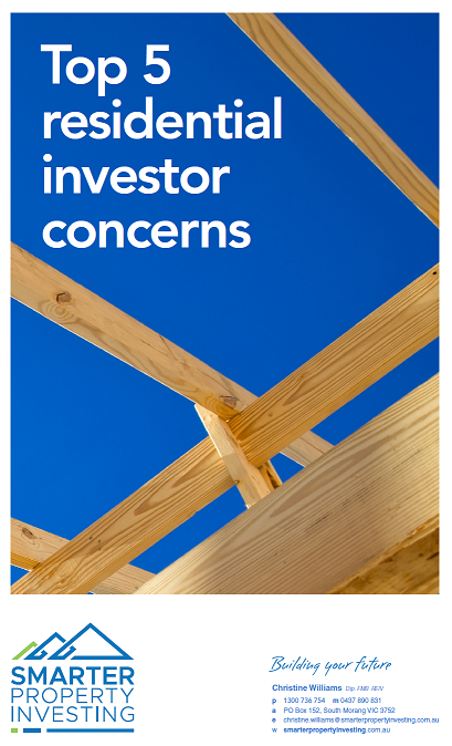 Top 5 residential investor concerns